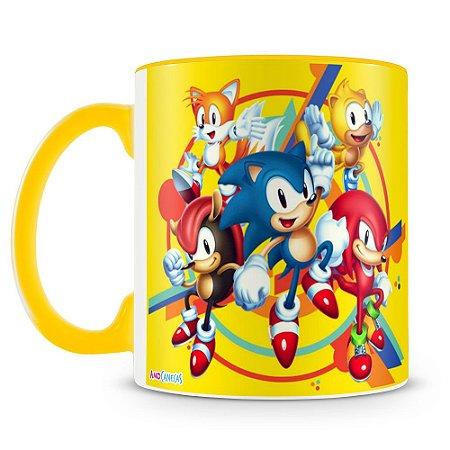 Caneca Personalizada Sonic (Mod.2)