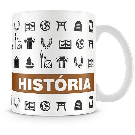 Caneca Personalizada Profissão História
