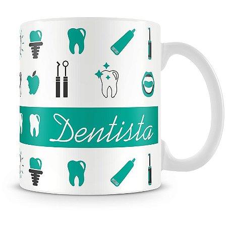 Caneca Personalizada Profissão Dentista