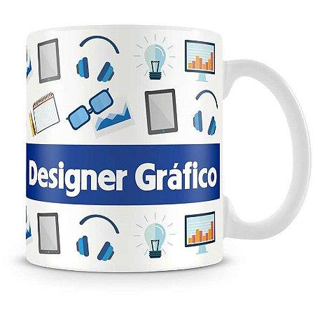 Caneca Personalizada Profissão Designer