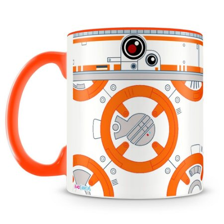 Caneca Personalizada Star Wars BB8