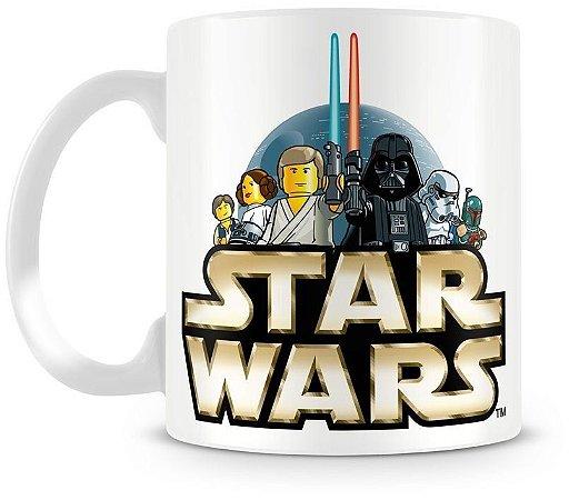 Caneca Personalizada Star Wars Lego