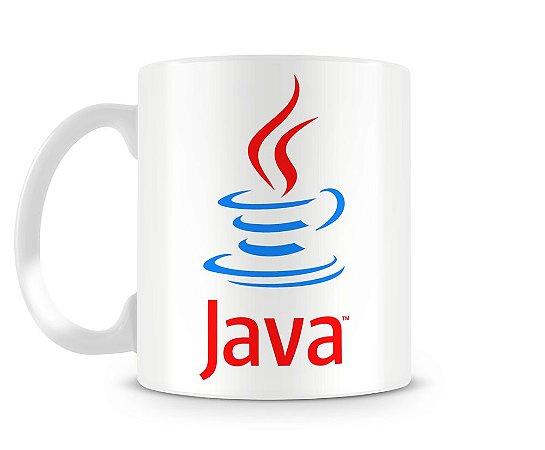 Caneca Personalizada Java