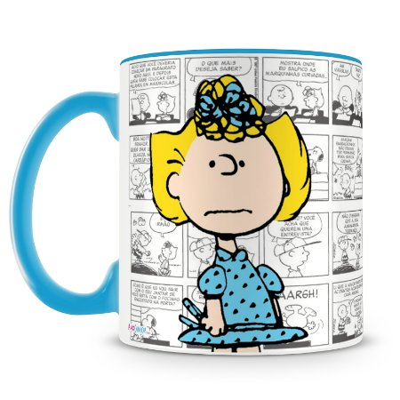 Caneca Personalizada Peanuts (Sally)