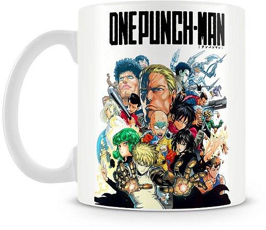 Caneca Personalizada One Punch-Man