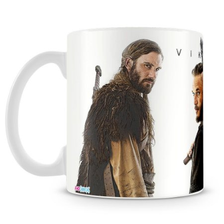 Caneca Personalizada Vikings Warriors