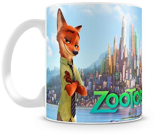 Caneca Personalizada Zootopia
