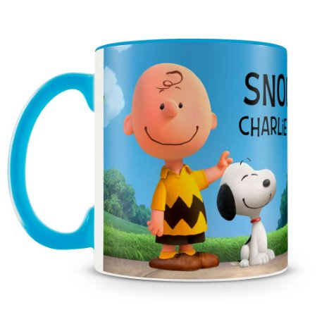 Caneca Personalizada Snoopy Charlie Brown