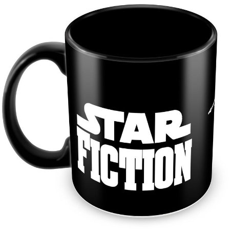 Caneca Personalizada Darth Vader Star Fiction (100% Preta)