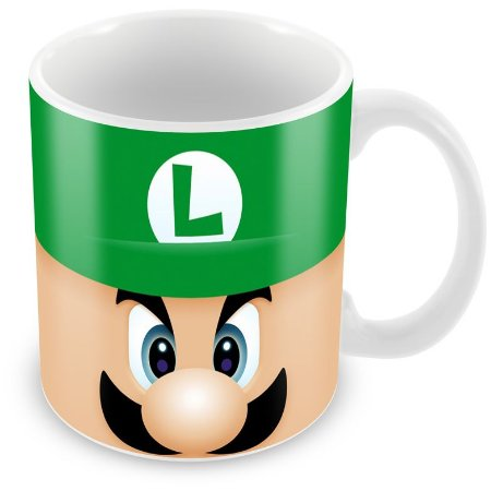 Caneca Personalizada Luigi
