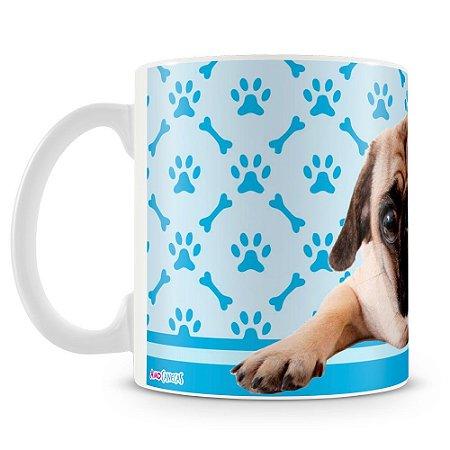 Caneca Personalizada Cachorro Pug (Mod.3)