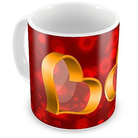 Caneca Personalizada Nosso Amor Vale Ouro