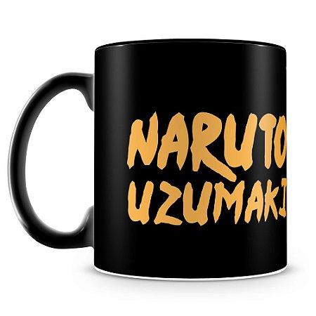 Caneca Personalizada Naruto (100% Preta)