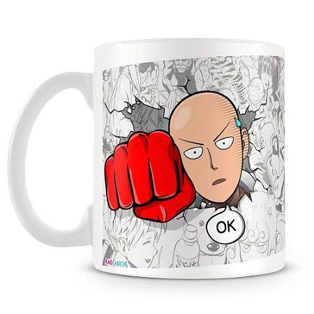 Caneca Personalizada One Punch Man (Mod.2)