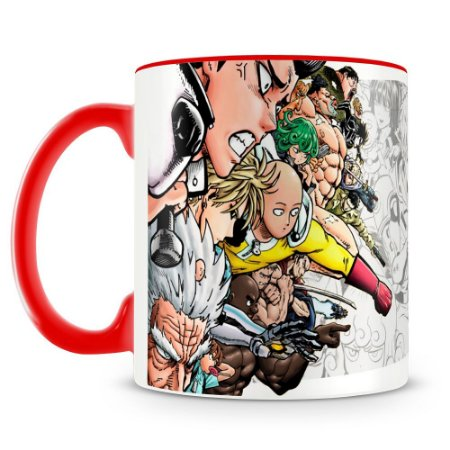 Caneca Personalizada One Punch Man (Mod.3)