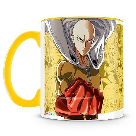 Caneca Personalizada One Punch Man (Saitama)