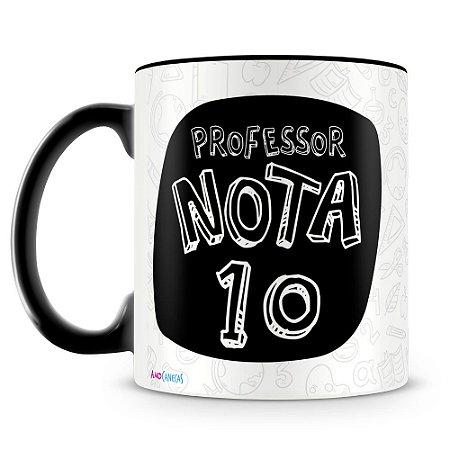 Caneca Personalizada Professor Nota 10
