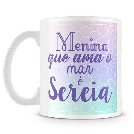 Caneca Personalizada Sereia (Mod.2)