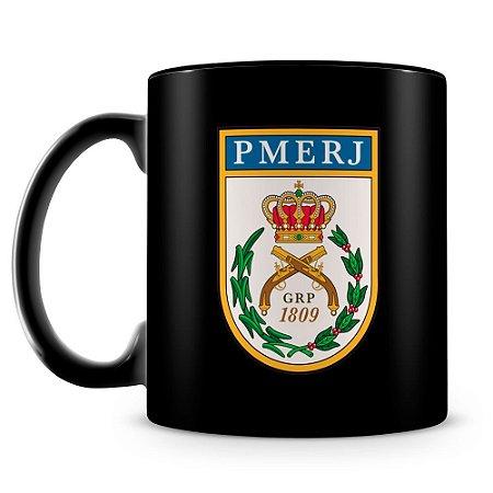 Caneca Personalizada Polícia Militar do Rio de Janeiro (100% Preta)