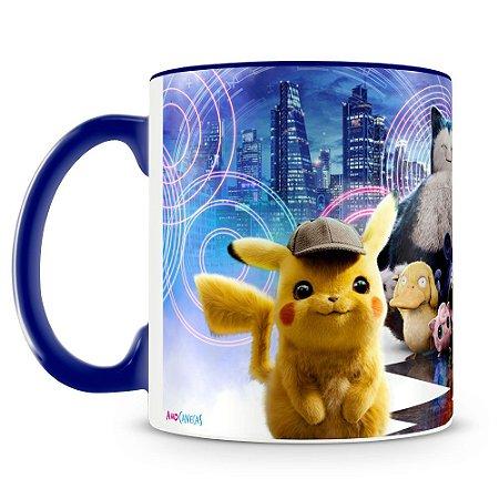 Caneca Personalizada Detetive Pikachu (Mod.1)