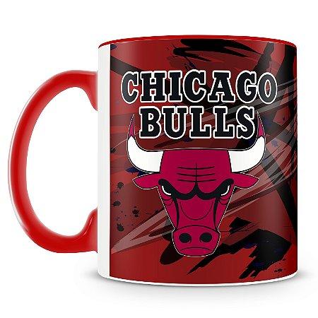 Caneca Personalizada Basquete Time Chicago Bulls