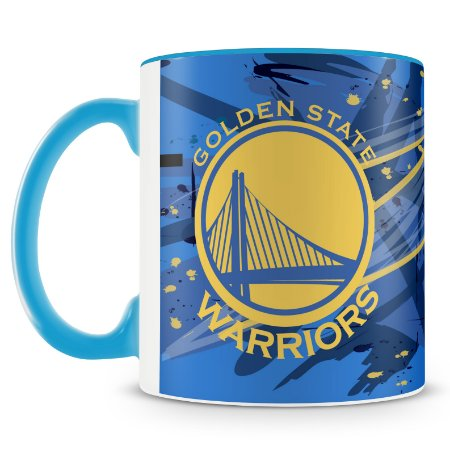 Caneca Personalizada Basquete Time Golden Warriors
