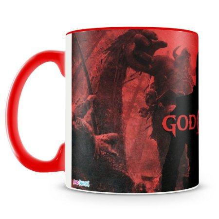 Caneca Personalizada God Of War (Mod.3)