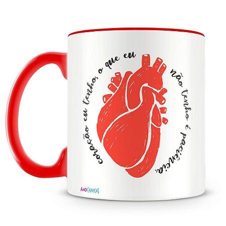 Caneca Personalizada Coração Eu Tenho