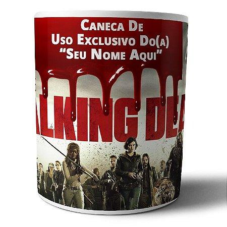 Caneca de Porcelana Personalizada The Walking Dead