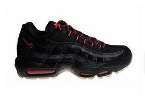 Tênis Nike air max 95 -Preto com Vermelho Masculino