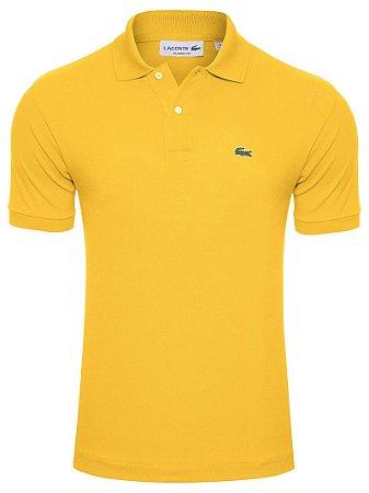 Camisa Polo Lacoste -Amarela Masculina