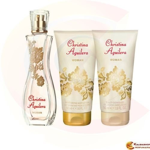 Kit Perfume Feminino Edp 30ml + Gel de Banho 50ml + Hidratante 50ml - Christina Aguilera