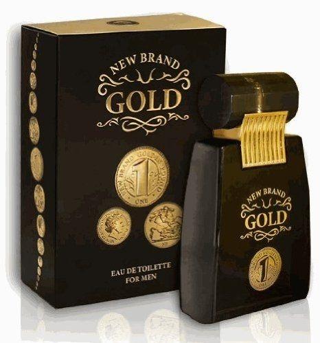 New Brand Gold For Men Eau de Toilette 100ml