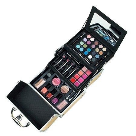 Maleta de Maquiagem Estojo Alumínio Color Play Gold - Markwins