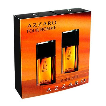 Resultado de imagem para Kit Com 2 Perfumes Azzaro pour Homme Eau de Toilette 30ml Cada
