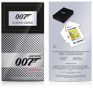 Perfume James Bond Quantum Eau de Toilette + Playing Cards