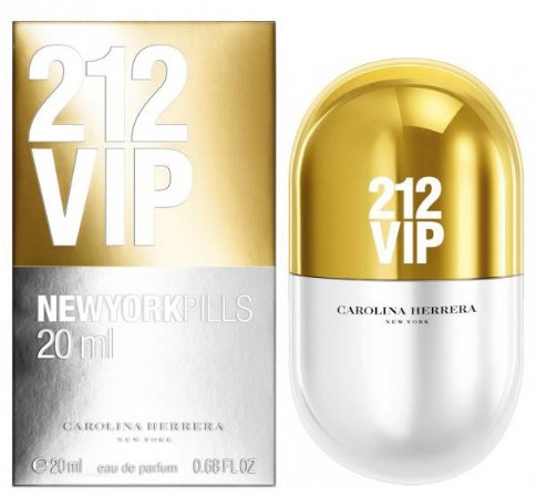 212 Vip New York Pills Feminino Eau de Parfum 20ml