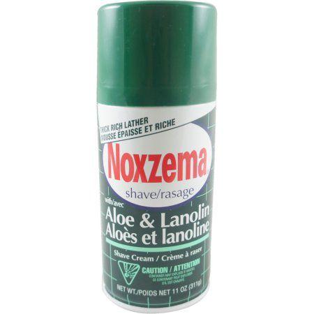 Noxzema Shave/Rasage Aloe et Lanoline 311g.