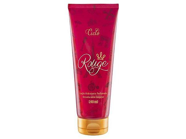 Loção Hidratante Perfumada Rouge 240ml - Ciclo