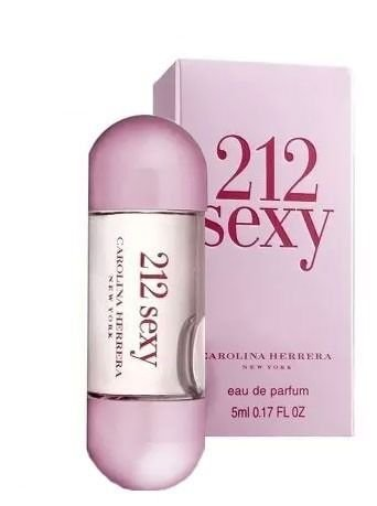 Miniatura Carolina Herrera Perfume 212 Sexy Feminino EDP - 5ML