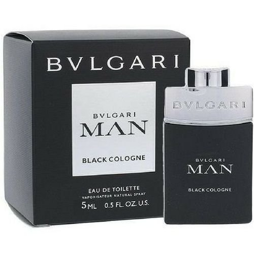 Miniatura Bvlgari Man Black Cologne EDT Masculino - 5ml