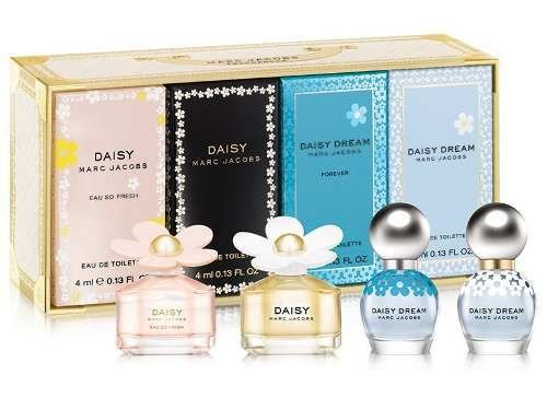 Kit Miniaturas De Perfume Daisy Marc Jacobs Fragrances Feminina C/4 x4ml