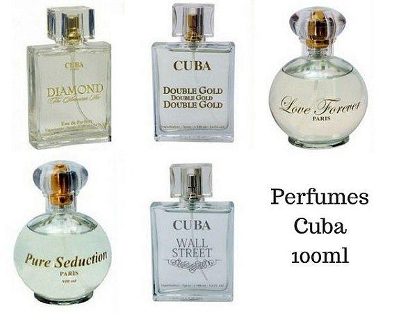 Perfumes Marca Cuba Todos 100 ML - Escolha o Seu Nas Opções