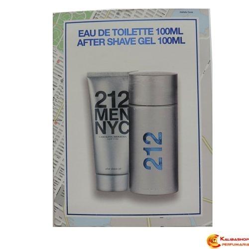 Kit Perfume 212 Men Edt 100ml + After Shave Gel 100ml