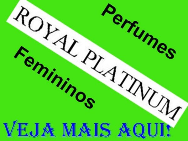 Perfumes Royal Platinum Femininos Eau de Parfum 100ml