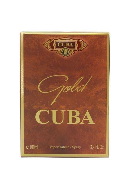 Cuba Paris Gold Masculino Eau de Parfum 100ml