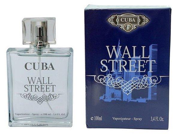Cuba Wall Street Masculino Deo Parfum 100ml