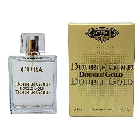 Cuba Double Gold Masculino Eau de Parfum 100ml