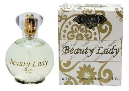 Cuba Beauty Lady Feminino Eau de Parfum 100ml