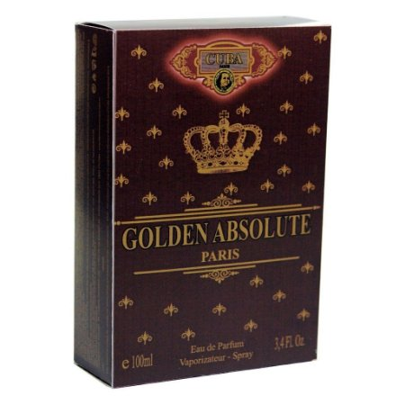 Cuba Golden Absolute Masculino Deo Parfum 100ml